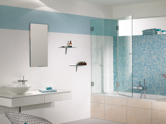 Glas Im Bad Und Badezimmer Glas Hetterich GmbH - Badezimmer glaswand statt fliesen