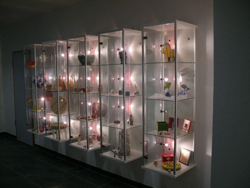 Glasvitrine Mit Beleuchtung | Glasvitrine Kaufen N Frankfurt Glas Hetterich Gmbh
