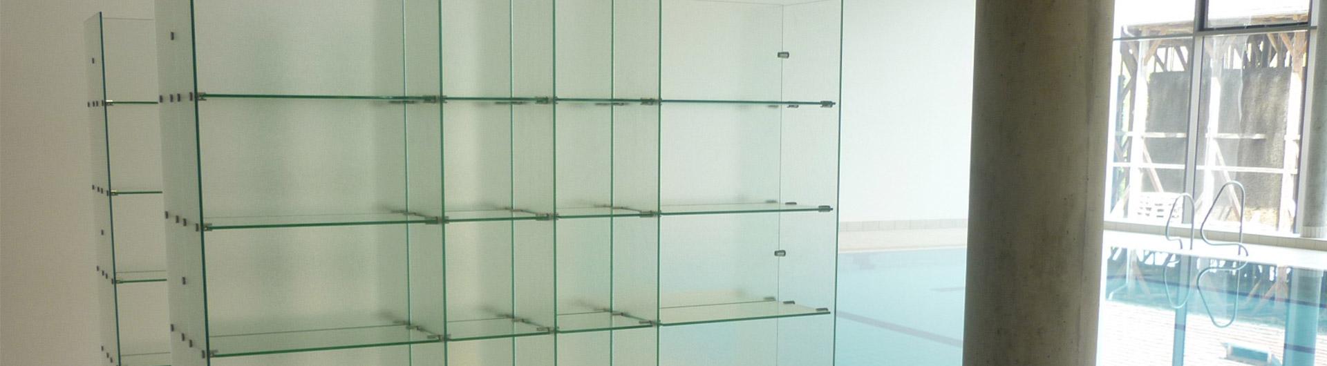 Badezimmer-Glasregale vom Fachbetrieb | Glas Hetterich