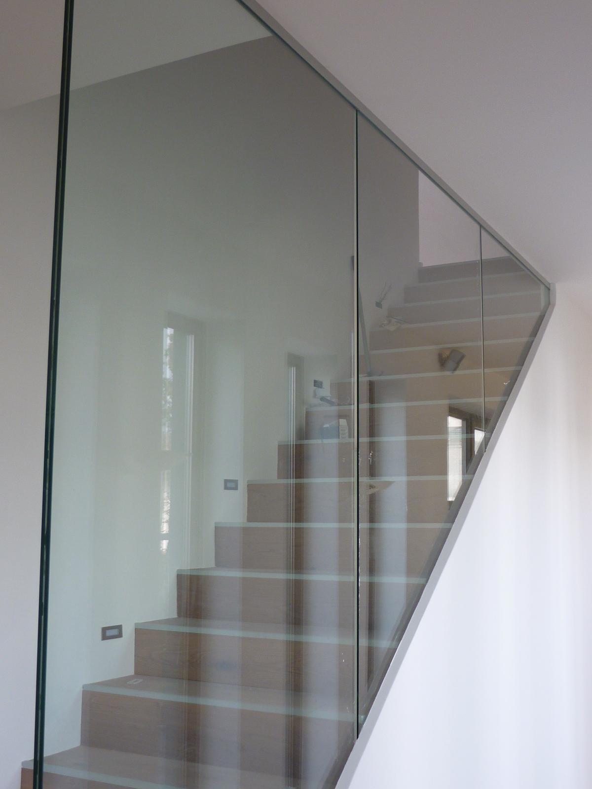 Berühmt Raumhohe Verglasung im Treppenhaus als Glasgeländer - Glas ZL08